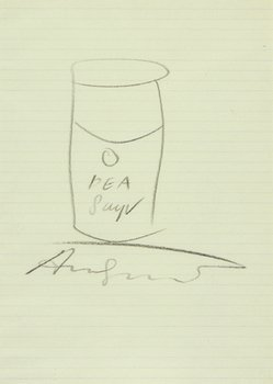 17A: Andy Warhol (1928-1987) untitled (pea soup)