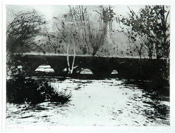 1B: Norman Ackroyd widford bridge