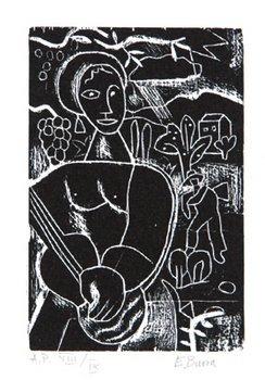 17B: Edward Burra (1905-1976) woodcuts 1928-29