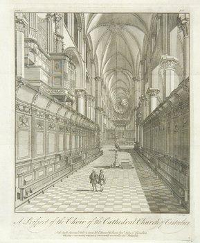 11C: Drake.Desc.Cathedral..Canterbury/York,1755