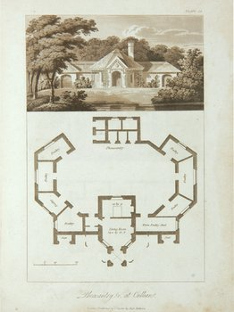 23C: Lugar (Robert) Plans and Views of Buildings, execu