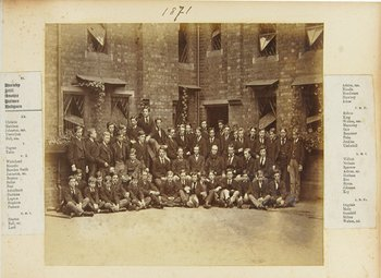 11D: Rugby School, Collection of Class Portraits