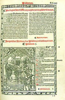 465A: Bible, Latin, Lyon, 1516.