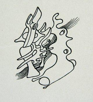 3E: Yves Tanguy (1900-1955) untitled, c. 1945