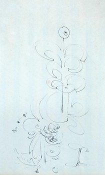 12E: George Condo (b.1957) untitled, 1986
