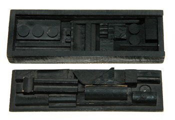19E: Louise Nevelson (1899 -1988) untitled