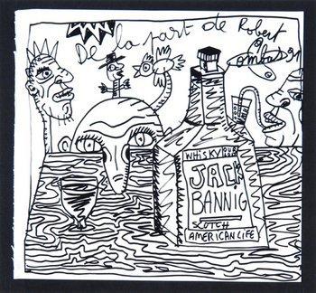 24E: Robert Combas, jack banning scotch, 1991