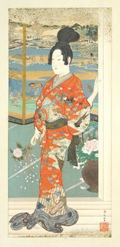 24A: Conder.Paintings..KawanabŽ Kyosai,1911