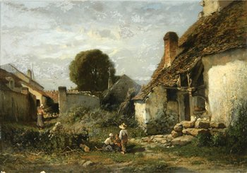 4B: Brissot De Warville (Félix) French farmyard