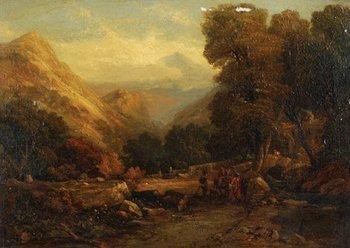 11B: Evans of Bristol, attrib. [View of Snowdon]
