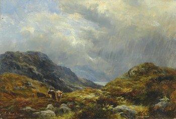 12B: Faed (James Jnr., 1856-1920) A Highland scene