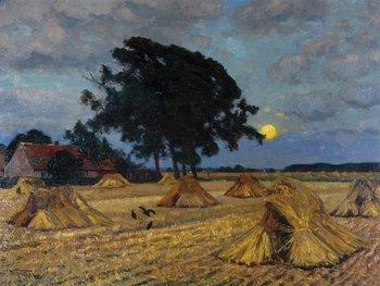15B: Fritzel (Wilhelm) Harvested wheat field