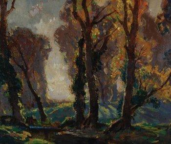 16B: Gardiner (Stanley Horace) woodland scene