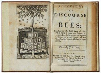 12C: [Worlidge] Apiarium; or discourse of bees: