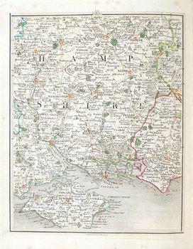 595C: Cary (John) New and Correct English Atlas