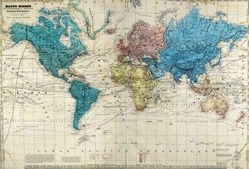 598C: Dufour (A. H.) Atlas Universel Physique, Historiq