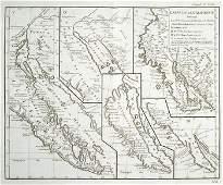 615C Robert de Vaugondy Maps of America