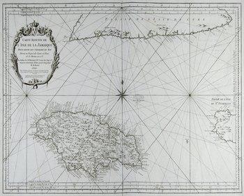 637C: Bellin (J N) Carte de L'Isle de la Jamaique