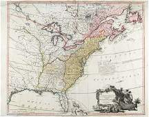 641C Faden W The United Sates of North America with