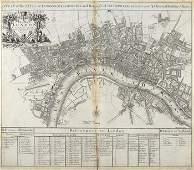 1072C Senex J A New Map of London