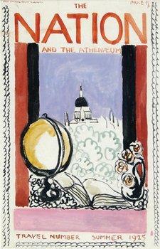 564E: Bell (Vanessa) Gouache and watercolour cover desi