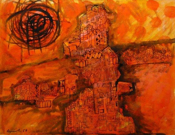 12A: Avinash Chandra (1931-91) untitled, 1958