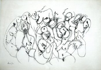 12Y: Avinash Chandra (1931-91) untitled