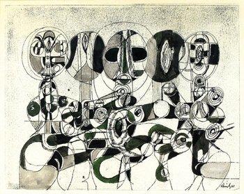 13A: Avinash Chandra (1931-91) untitled, 1961