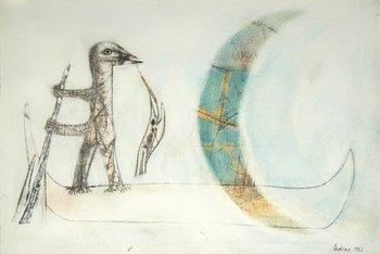 21A: Henri Edion (1905-1987) the captured moon, 1962