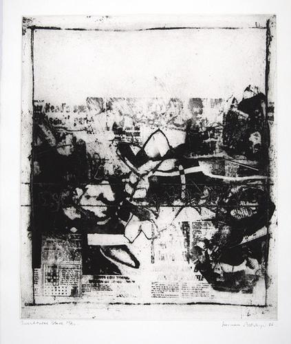 1B: Norman Ackroyd (b.1938) incidental black