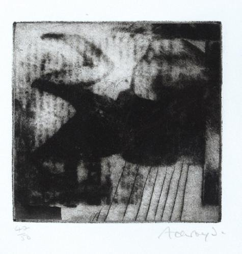 5B: Norman Ackroyd (b.1938) black form