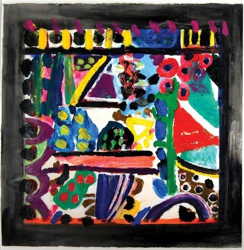 16B: Gillian Ayres, the noises of the night