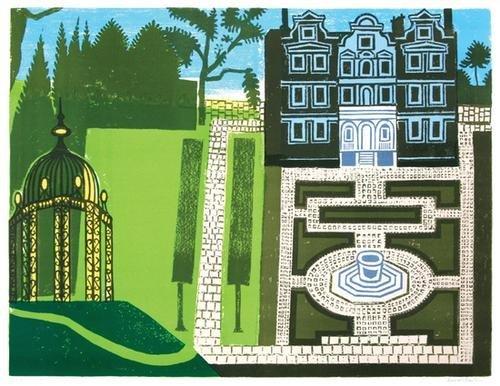 20B: Edward Bawden (1903-1989) the queen's garden