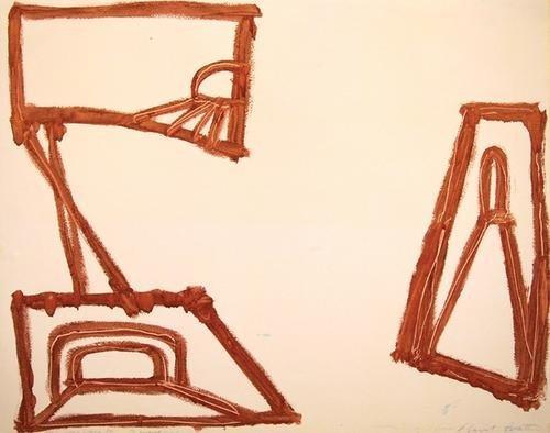 21B: Basil Beattie, untitled