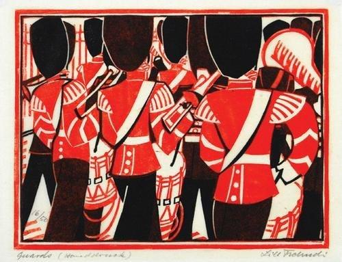 269B: Lill Tschudi (1911-2001) guards (c.lt.50)