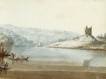302C: Tighe (Hannah) sketchbook of Irish landscapes