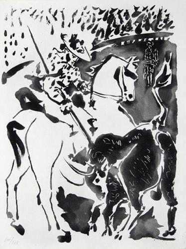 5D: Picasso.-Merimée.Carmen des Carmen,1964