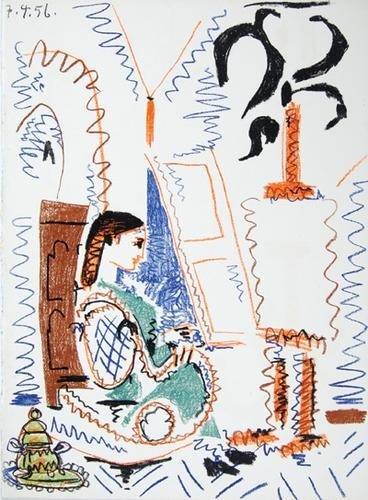 6D: Sabartés.Dans l'Atelier de Picasso,1/200,1957
