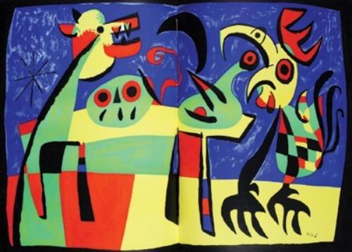 11D: Verve,no.27/28,ill.Braque,Matisse,Chagall,1952