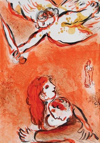 15D: Verve,no.37/38,24 col.liths. by Chagall,1960