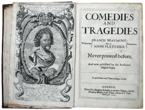 269D: Beaumont & Fletcher. Comedies and Tragedies
