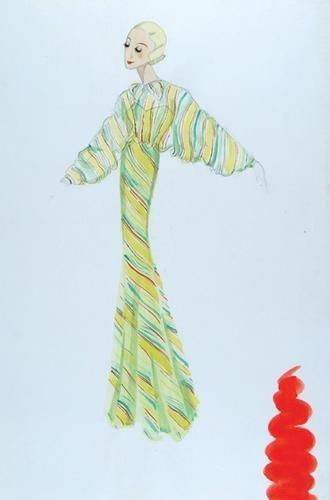 495E: Stiebel (Victor) Four watercolour designs