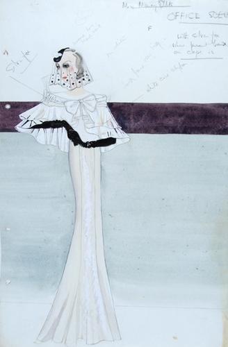 "496E: Stiebel (Victor) Two designs for ""Music in the Ai"