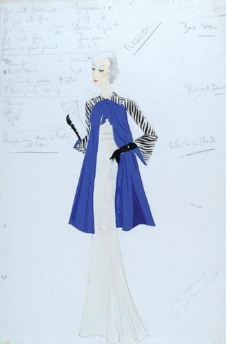 498E: Stiebel (Victor) Two designs for Margaret Neeson