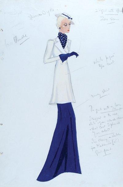 "500E: Stiebel (Victor) Two designs for ""Music in the Ai"