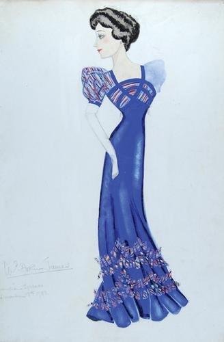 506E: Stiebel (Victor) Pencil and watercolour design