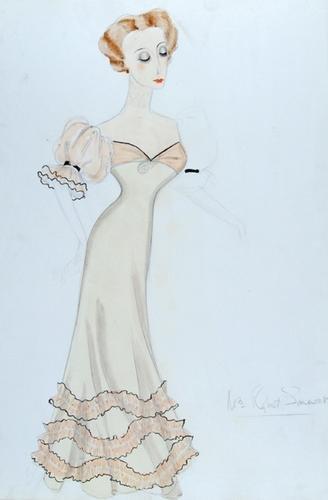 508E: Stiebel (Victor) Pencil and watercolour design