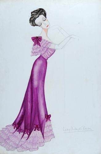 509E: Stiebel (Victor) Pencil and watercolour design