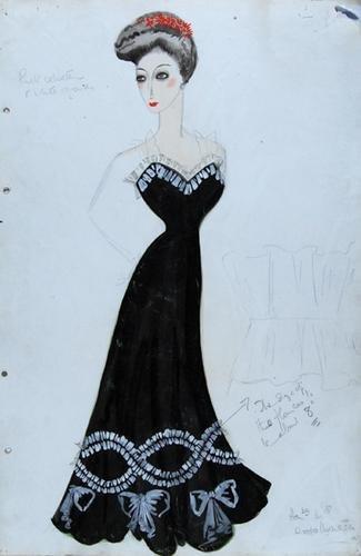 511E: Stiebel (Victor) Pencil and watercolour design