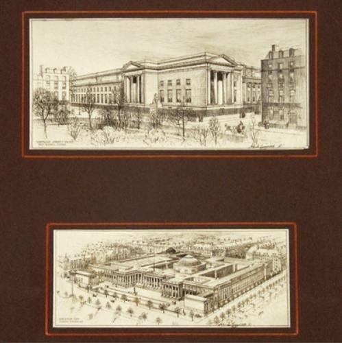 794E: Burnet (John James). British Museum Extension